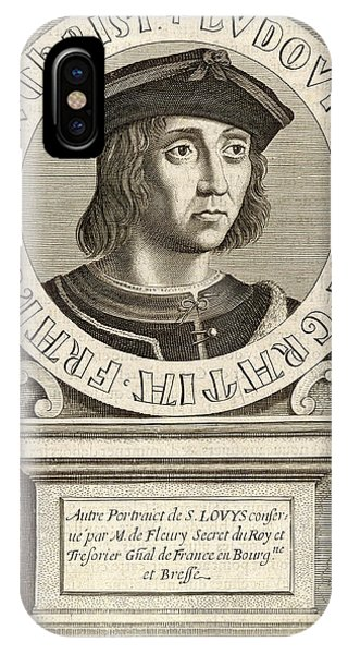Louis Ix,  King Of France, Crusader Phone Case by Mary Evans Picture Library
