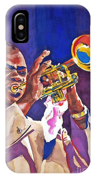 Louis Satchmo Armstrong IPhone Case