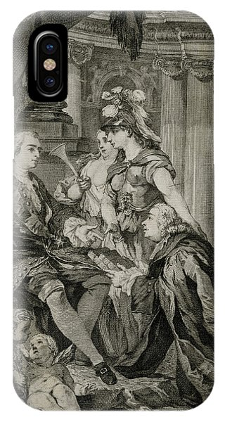 Louis Xv             Accepts Phone Case by Mary Evans Picture Library