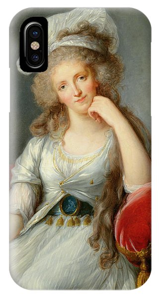 Louise-marie Adelaide, Duchesse Dorleans Oil On Canvas See Also 91622 IPhone Case