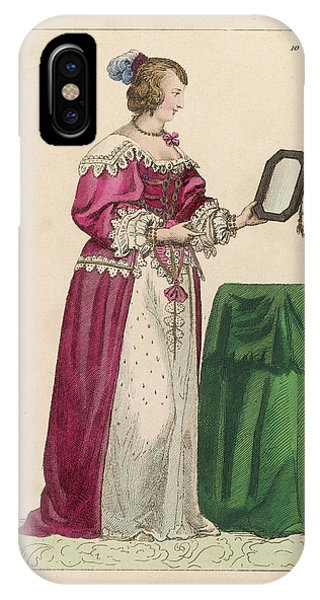 Louise Mottier De La Fayette  French Phone Case by Mary Evans Picture Library