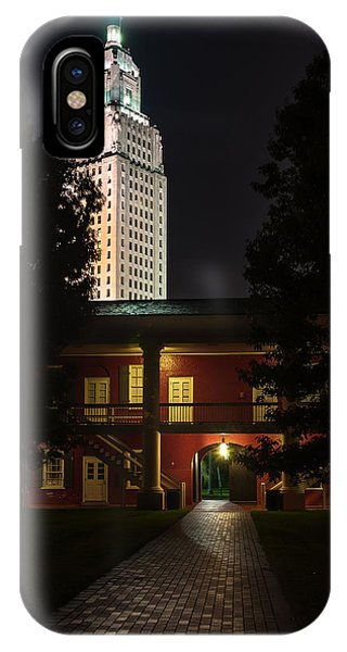 Louisiana State Capitol And Pentagon Barracks IPhone Case