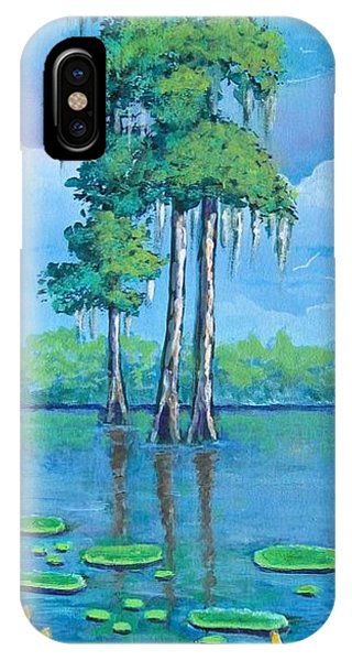 Louisiana Cypress IPhone Case