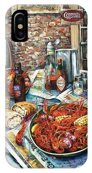 Food And Beverage iPhone Case - Louisiana Saturday Night by Dianne Parks