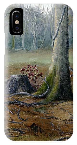 Louisiana Winter Landscape From An Oil Painting IPhone Case
