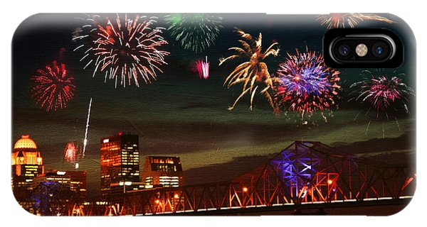 Louisville Kentucky Celebration IPhone Case