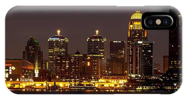 Louisville Skyline IPhone Case