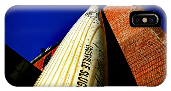 Louisville Slugger Bat Factory Museum IPhone Case