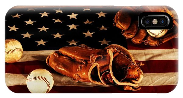 Baseball Bats iPhone Case - Louisville Slugger by Dan Sproul