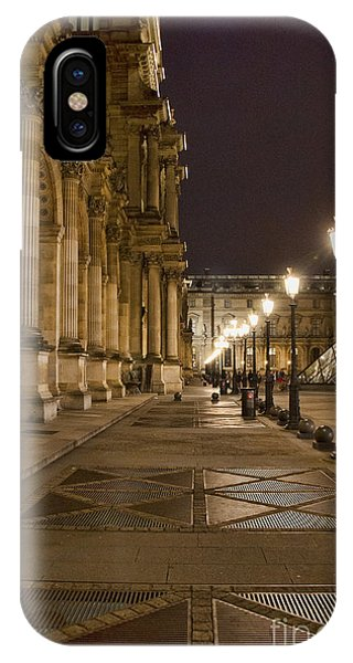 Louvre Courtyard IPhone Case