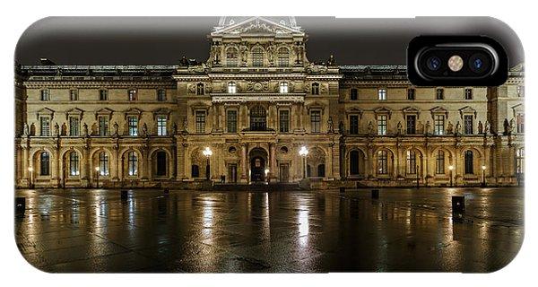Louvre.pavillon Richelieu Phone Case by Rostislav Bychkov