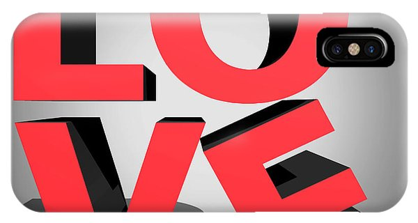 Love iPhone Case - Love 2 by Mark Ashkenazi