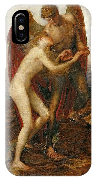 Altruism iPhone Case - Love And Life by George Frederick Watts
