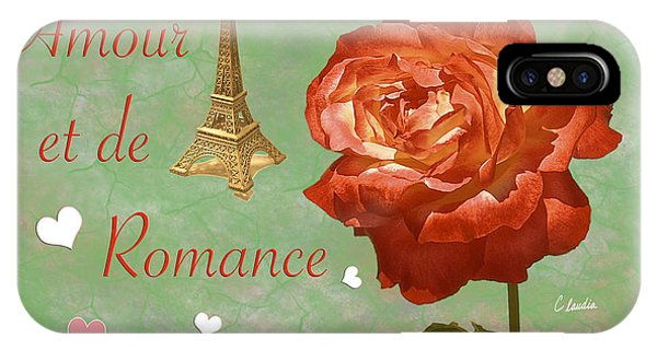Love And Romance IPhone Case