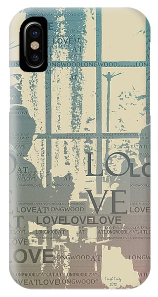 Love At Longwood IPhone Case