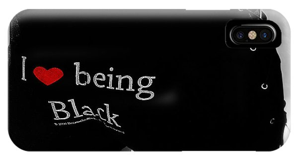 Love Being Black IPhone Case