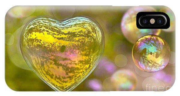 Love Bubble IPhone Case