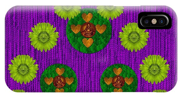 Love Fantasy Buddha Blessings IPhone Case