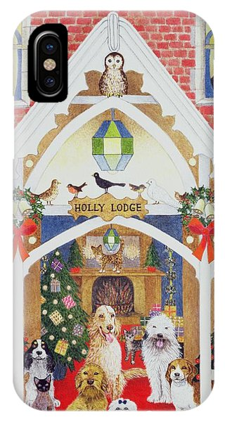 Porches iPhone Case - Love From Holly Lodge by Pat Scott