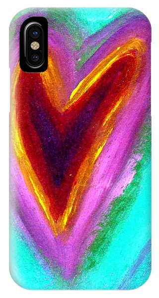 Love From The Heart IPhone Case