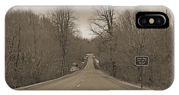 Love Gap Blue Ridge Parkway IPhone Case