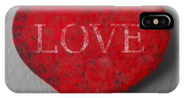 Love Heart 1 IPhone Case