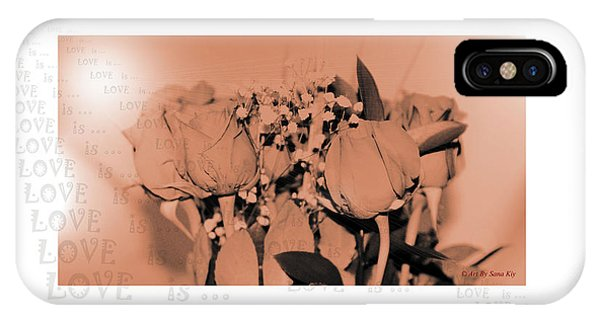 Endless Love. Love Is... Collection 13. Romantic IPhone Case
