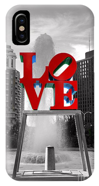 Love iPhone Case - Love Isn't Always Black And White by Paul Ward