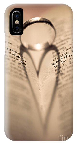 Valentines Day iPhone Case - Love by Jan Bickerton