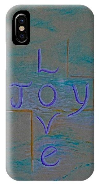 Love Joy Phone Case by Mary Grabill
