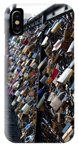 Love Locks IPhone Case
