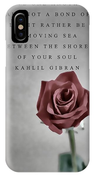 Love One Another Kahlil Gibran IPhone Case