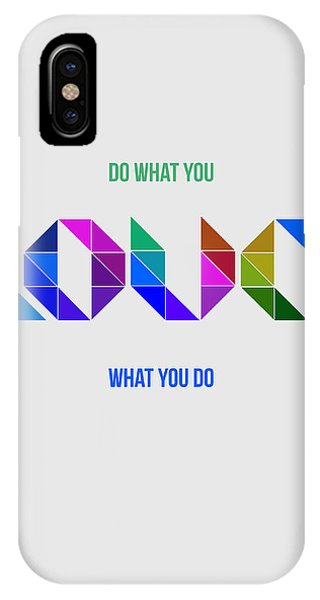 Motivational iPhone Case - Love Poster 3 by Naxart Studio