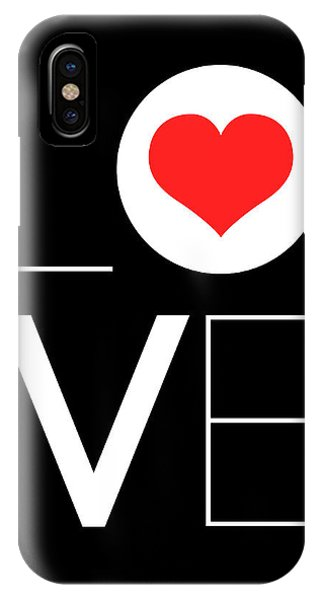 Hearts iPhone Case - Love  Poster 7 by Naxart Studio