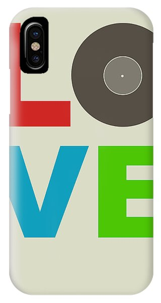 Witty iPhone Case - Love Poster by Naxart Studio