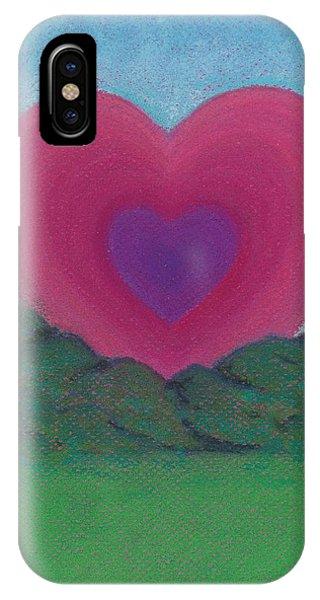 Love Rising IPhone Case