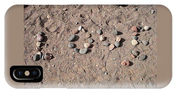 Love Rocks IPhone Case