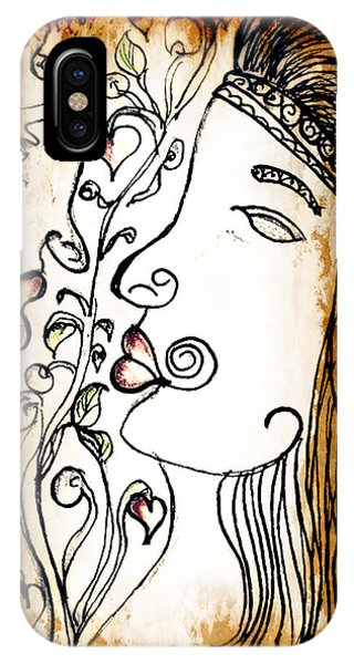 Love Tangled IPhone Case
