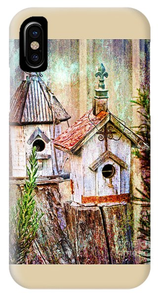 Love Thy Neighbor - Birdhouses IPhone Case