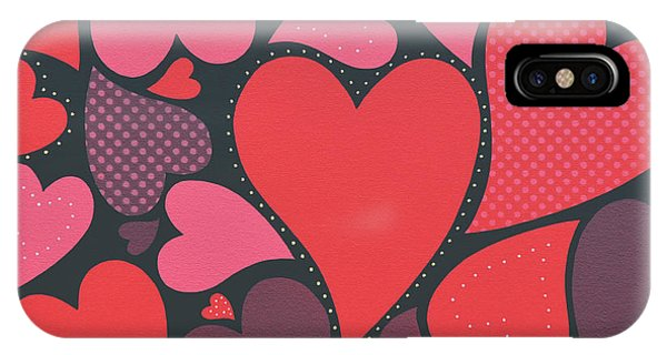 Seamless iPhone Case - Love Unlimited by James Lee