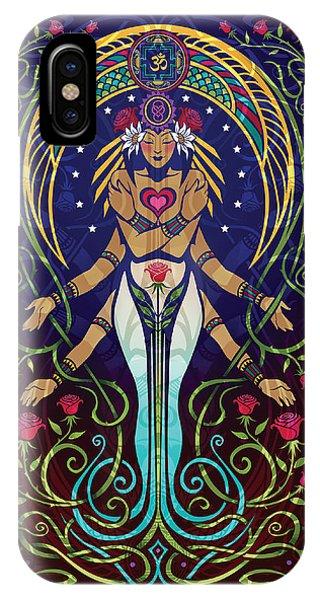 Buddhism iPhone Case - Love V.2 by Cristina McAllister