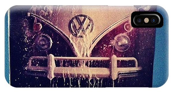 Vw Bus iPhone Case - Love Vw Ads🚌 #vw#bus#vintage#ads by Vanessa Aguilar