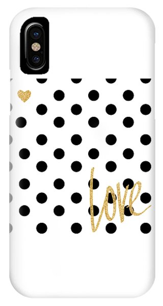 Love With Dots IPhone Case