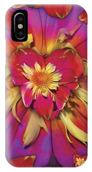Loveflower Orangered IPhone Case