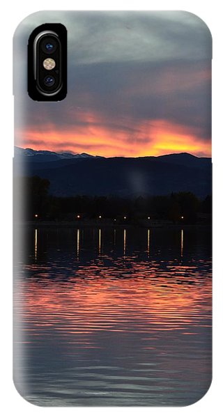 Loveland City Sunset IPhone Case