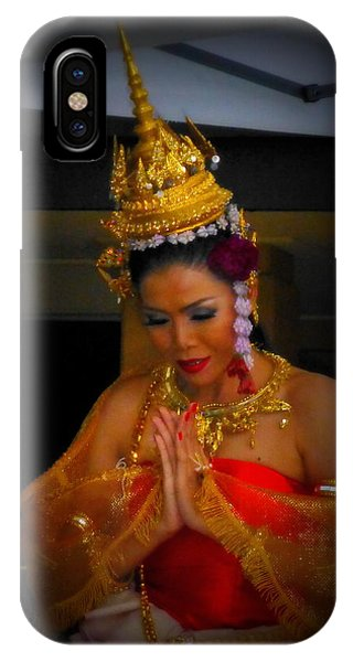 Lovely Balinese Dancer IPhone Case