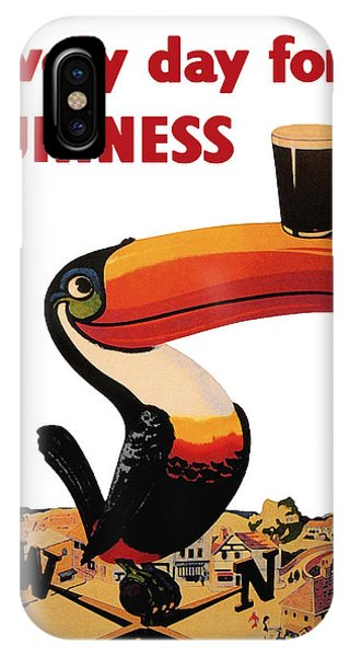 Vintage iPhone Case - Lovely Day For A Guinness by Georgia Fowler