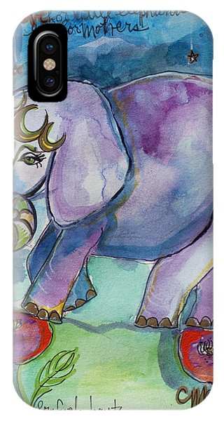 Lovely Little Elephant2 IPhone Case