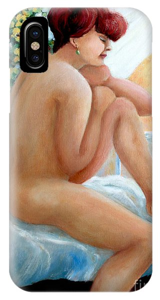 Lovely Morning IPhone Case