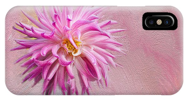 Lovely Pink Dahlia IPhone Case